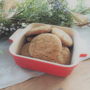 Holiday Hostess Ginger Snap Cookies