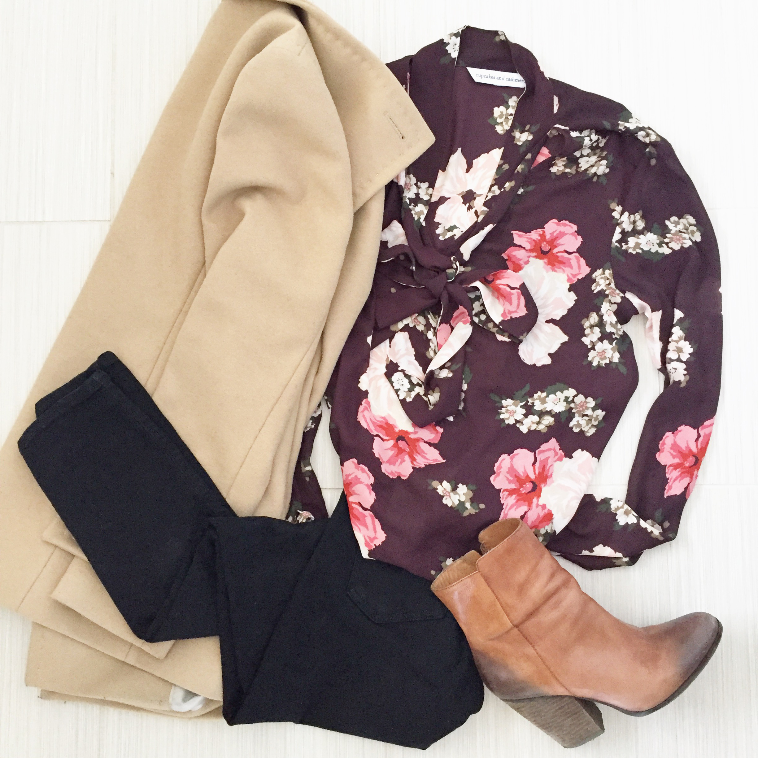 Business Casual VDay_Brown Booties