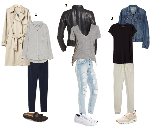 Easy & Comfortable Airport Looks