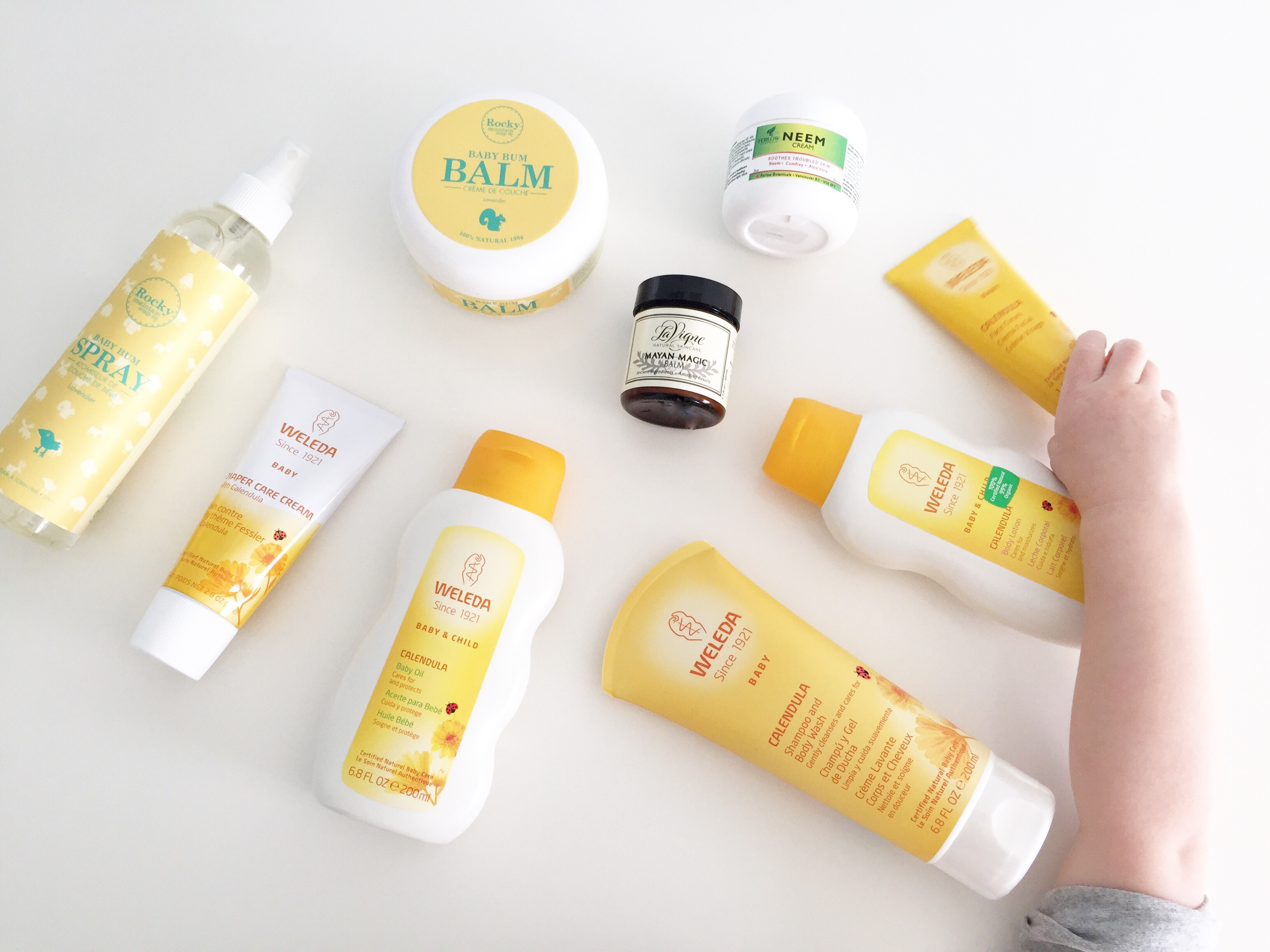 The Best Natural Skincare Products for Babies & Toddlers