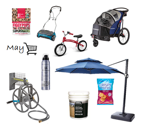 May: What's in my cart?