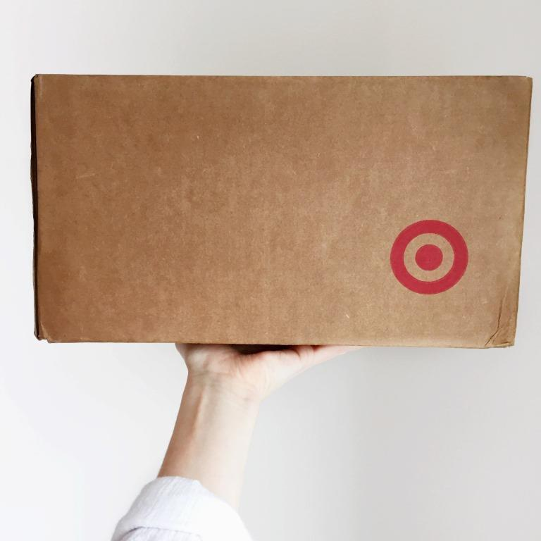 Shopping online with Target
