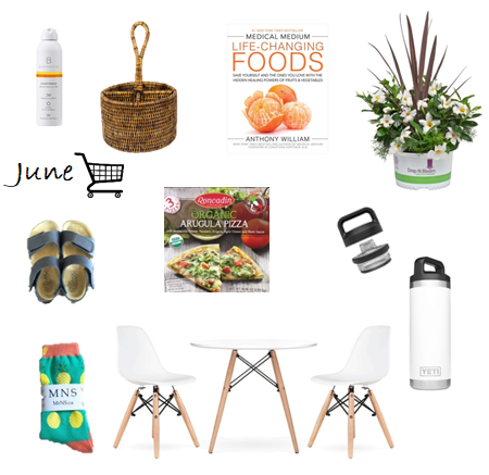 June - What's in my cart