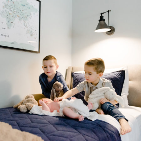 Simple Shared Boys Room